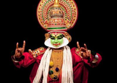Kathakali Dance in Kerala, South India