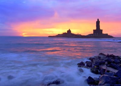 7. KOVALAM SUNSET BEACH LIGHTHOUSE SHOT